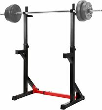 Adjustable Barbell Stand Multifunction Squat Rack Home Gym Weight Lifting Press