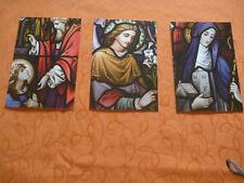 Gebetskarte, Kirche, Beten, Andacht, Messe, Sammeln, Faltkarten,Gedenken 3 Stück