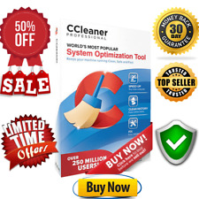 CCleaner PROFESSIONAL 2020 ✅ Lifetime License Key ⚡ 85% OFF⚡Fast Delivery⚡