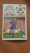 EDICIONES ESTE 1983 1984 CROMO FC BARCELONA OLMO NUEVO SIN PEGAR  83 84