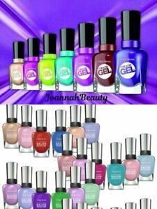 🔥 Sally Hansen Miracle Gel /Complete Salon Manicure Nail Polish  🔥