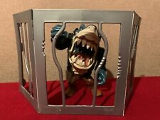 Street Sharks Series 4 POOL SHARK RIPSTER Figure With Cage 1995 Mattel
