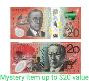 Mystery parcel prize up to the value of $20