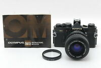 【NEAR MINT】 Olympus OM-2N Black 35mm SLR Camera w/ 35-70mm f/4 from JAPAN #1078