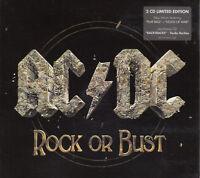 AC/DC Rock Or Bust 2CD Limited Edition Bonus CD Digipak Unofficial Release RARE