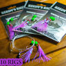 1x Snapper Snatchers Rig Fishing Rigs Bait 60lb Leader Hook 5/0 Paternoster Tied