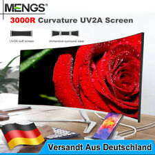 LED Monitor 24 Zoll PC Curved Gaming Monitor full HD 1920x1080p 75Hz HDMI VGA DE
