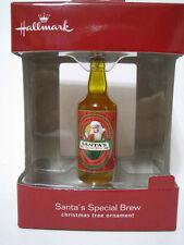 Santa's Special Brew - Christmas Tree Ornament - 2016 Hallmark - New NIB