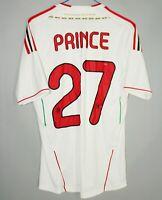 AC MILAN ITALY 2011/2012 AWAY FOOTBALL SHIRT JERSEY MAGLIA ADIDAS SIZE 27 PRINCE