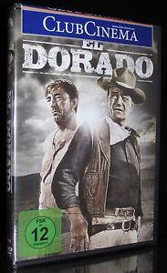 DVD EL DORADO - JOHN WAYNE + ROBERT MITCHUM + JAMES CAAN - Western-Klassiker NEU