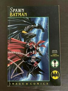SPAWN BATMAN  #1 IMAGE COMICS 1994 VF