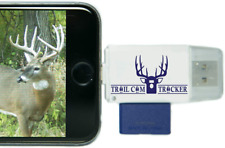 Trail Cam Tracker Trail Camera Sd Card Reader for iPhone Android - The Best