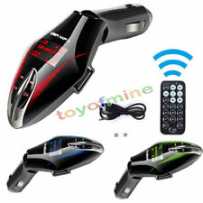 Transmisor FM Reproductor MP3 kit para coche inalámbrico USB remoto