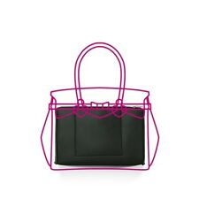 SAVE MY BAG Borsa Pochette donna Organizer JUMP-MISS LYCRA Black