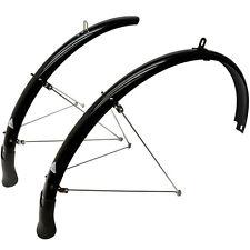Axiom Roadrunner LX Reflex Road Fender Set Road Commuter Bicycle Black 700x28-45