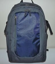 NEW PICNIC TIME INSULATED PICNIC BACKPACK WITH UTENSIL SERVICE FOR TWO GREY/NAVY