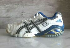 Asics Gel Sensei 3 White Blue Athletic Sneakers Volleyball US-6 Rare Vintage New