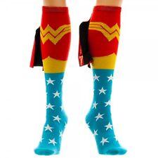 DC Comics Wonder Woman Shiny Cape Knee High Socks