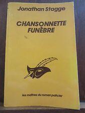 Jonathan Stagge: Chansonnette funèbre/ Le Masque N°1736 Libr. des Champs-Elysées