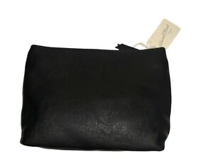 Women's Universal Thread Faux leather Makeup Bag