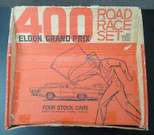 Vintage 1968 Eldon Grand Prix 400 Road Race Set