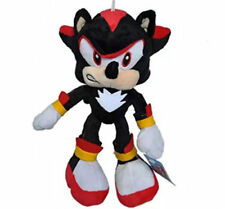 Shadow Sonic Black Sonic The Hedgehog 10 inch Plush Toy Stuffed Figure Doll USA