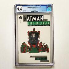 BATMAN THE LONG HALLOWEEN # 3 CGC 9.6 NM/MT DC Comics CHRISTMAS 1997 🎥 Coming