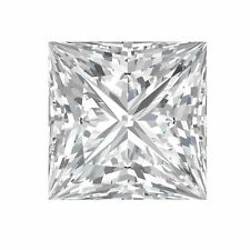 0.13CT Princess Cut C&C Forever Brilliant Moissanite Loose Square Stone 2.5MM