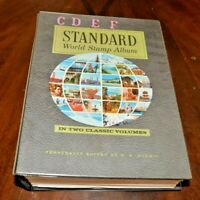 CatalinaStamps: Harris Standard World Stamp Album C-F 1978 w/3300 Stamps, #D12