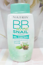 40g Natriv Bb Oil Control Powder Aloe Snail For Face + Body Concealed Skin Dull