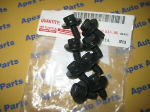 Toyota Tacoma 4Runner FJ Tundra Land Cruiser Front Skid Plate Bolts OEM 12mm Top