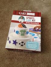 Cake Boss Decorating Tools Sports Cake Baseball Basketball Party Birthday  Kit