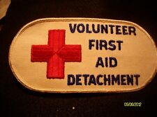 Red Cross volunteer first aid detachment armband NEW