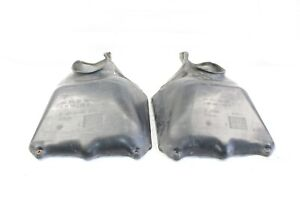 2001 PORSCHE BOXSTER 986 CONVERTIBLE #174 LEFT & RIGHT RADIATOR AIR DUCT SCOOP