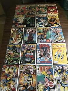 Wolverine Comic Lot -20 Books