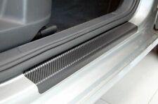 Einstiegsleisten für CITROEN BERLINGO 3 ab2018 Lackschutzfolie Carbon Schwarz 3D