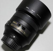 Nikon Nikkor 85mm f/1.8G AF-S lens, barely used.