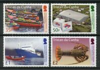 Tristan da Cunha 2019 MNH Lobster Fisheries 4v Set Boats Ships Fishing Stamps