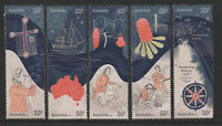 Australia 2020 : Navigating History, Endesvour Voyage 250 Years, Set of 5 Stamps