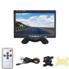 "7"" TFT LCD Color Rear View Dash Monitor Screen For Car Backup Parking System"