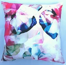 Handmade, Pink, Grey & Blues Abstract Home Decor Cushion Cover 45x45 50x50 NEW