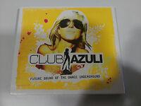 CLUB AZULI FUTURE SOUND OF THE DANCE UNDERGROUND - 2 X CD 2006 nuevo