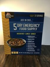"""Mountain House 5 Day Emergecy Food Supply 37 Servings Exp Nov. 2049 """"Read"""""""