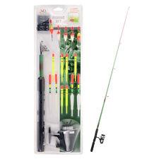 Junior Fishing Set Complete Starter Outdoor Adults Kids Beginner Rod Reel Floats