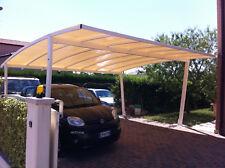Box Auto Gazebo Tetto Tettoia Pensilina Tenda 500 x500 2posti 1450€