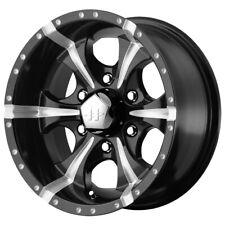 "Helo HE791 Maxx 17x9 6x5.5"" -12mm Black/Milled Wheel Rim 17"" Inch"