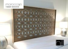 MOROCCAN TIMBER Bedhead / Headboard for Queen Ensemble - COCO