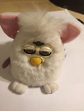 ORIGINAL FURBY BABIES BABY WHITE PINK INTERACTIVE SOUND TOY By TIGER 1999