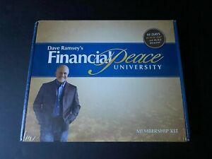 Sealed NEW Dave Ramsey's Financial Peace University Membership Kit Course Box