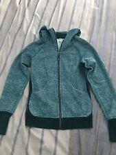 Lululemon scuba hoodie III size 4 rio mist/sea mist